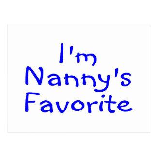 Im Nannys Favourite Blue Postcard