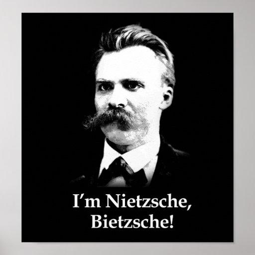 I'm Nietzsche, Bietzsche! Poster