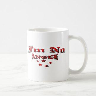 I'm No Angel Basic White Mug