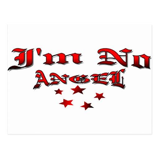 I'm No Angel Post Cards