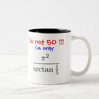 I'm not 50! I'm only almost 50... - Customized Mugs