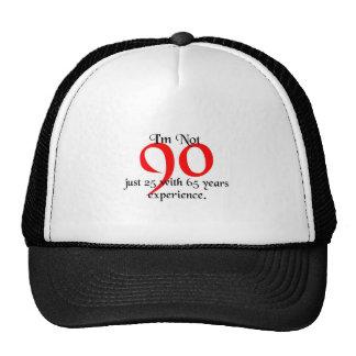 I'm not 90 cap
