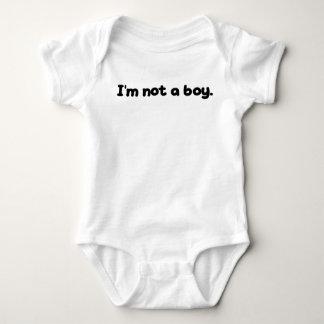 I'M NOT A BOY BABY BODYSUIT