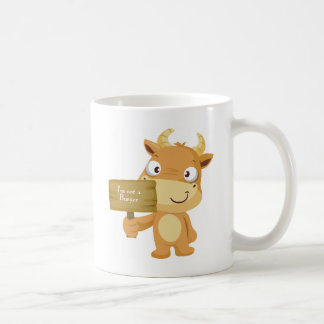 I'm not a burger coffee mug