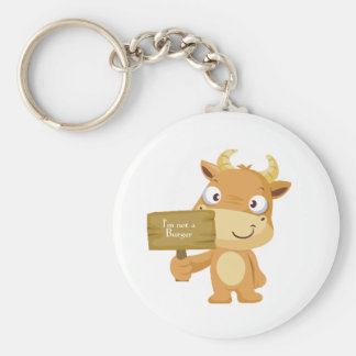 I'm not a burger key ring