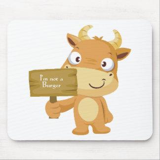 I'm not a burger mouse pad