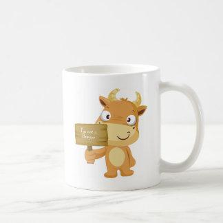 I'm not a burger coffee mug
