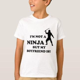 I'm Not a Ninja But My Boyfriend Is Tshirts