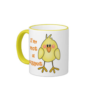 I'm Not A Nugget Vegan/Vegetarian Mug/Cup Ringer Mug