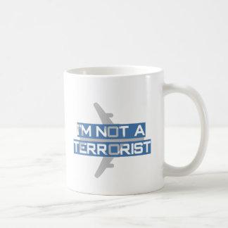 I'm not a terrorist basic white mug