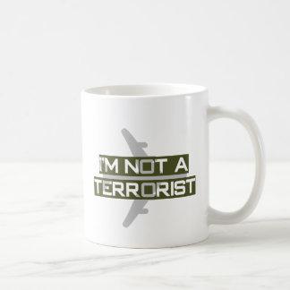 I'm not a terrorist mugs