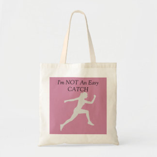 I'm Not An Easy Catch, Women's Running Tote Bag