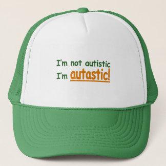 I'm not Autistic I'm Autastic! (Autism Awareness) Trucker Hat