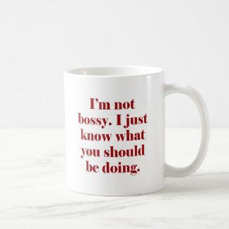 I'm not Bossy Mugs
