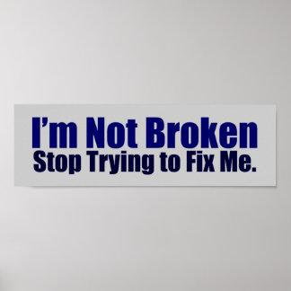 I'm Not Broken Poster