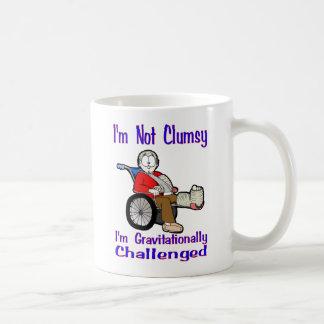 I'm Not Clumsy Basic White Mug