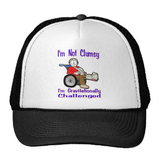 I'm Not Clumsy Hats