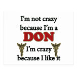 I'm Not Crazy Post Cards
