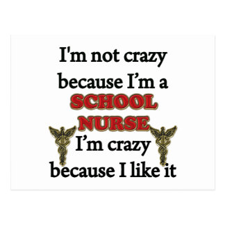 I'm Not Crazy Postcard