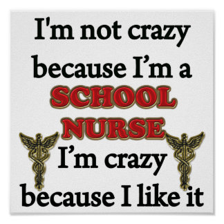 I'm Not Crazy Print