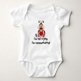 I'm not crying, I'm communicating baby bodysuit
