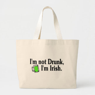 Im Not Drunk Im Irish 4 Jumbo Tote Bag