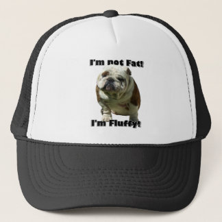 I'm not fat Bulldog baseball hat