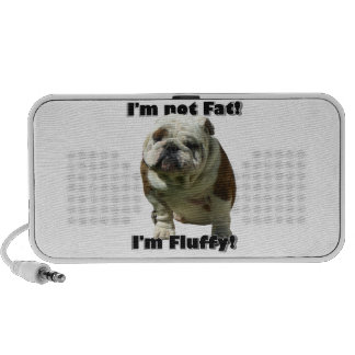 I'm not fat bulldog PC speakers