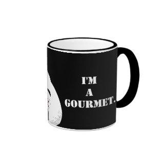 I'm NOT FAT. I'm A GOURMET. Mug