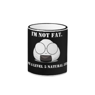 I'm NOT FAT. I'm FULL of KNOWLEDGE! Mugs