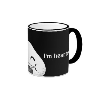 I'm NOT FAT. I'm HEARTY! Mugs