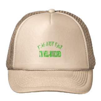 I'm Not Fat, I'm Well Nourished Mesh Hat