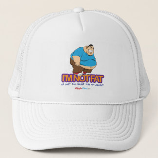 I'm Not Fat Trucker Hat