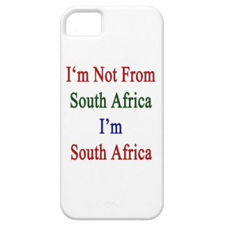I'm Not From South Africa I'm South Africa Case For iPhone 5/5S