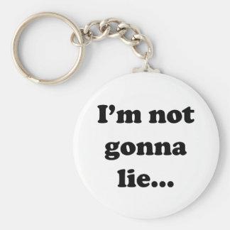 I'm not gonna lie... basic round button key ring