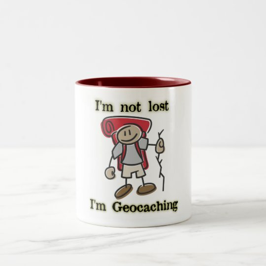 I'm Not Lost I'm Geocaching Cool Coffee Mug