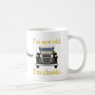 I'm Not Old. I'm Classic.. Basic White Mug