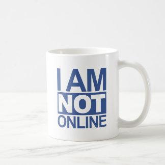 I'm NOT online Mugs