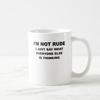 IM NOT RUDE.png Coffee Mug