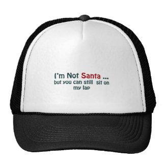 I'm not santa cap