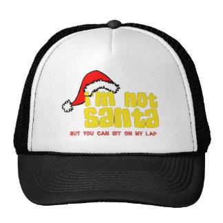 Im not Santa sit on my lap.png Cap