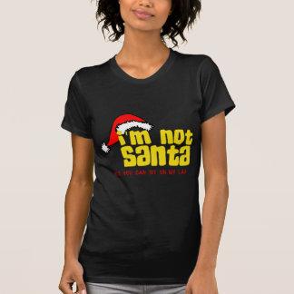 Im not Santa sit on my lap png Tee Shirts