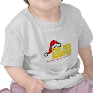 Im not Santa sit on my lap png T-shirt