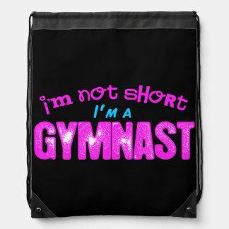 I'm Not Short, I'm a Gymnast Pink and Blue Rucksack