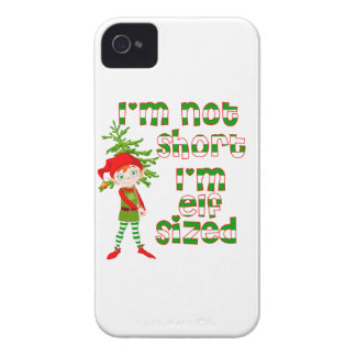 I'm not short I'm elf sized iPhone 4 Case-Mate Case