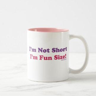 I'm Not Short, I'm Fun Size! Two-Tone Coffee Mug