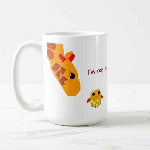 I'm not short, I'm fun sized! Coffee Mugs
