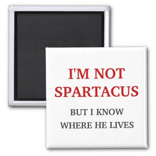 I'm Not Spartacus Magnet