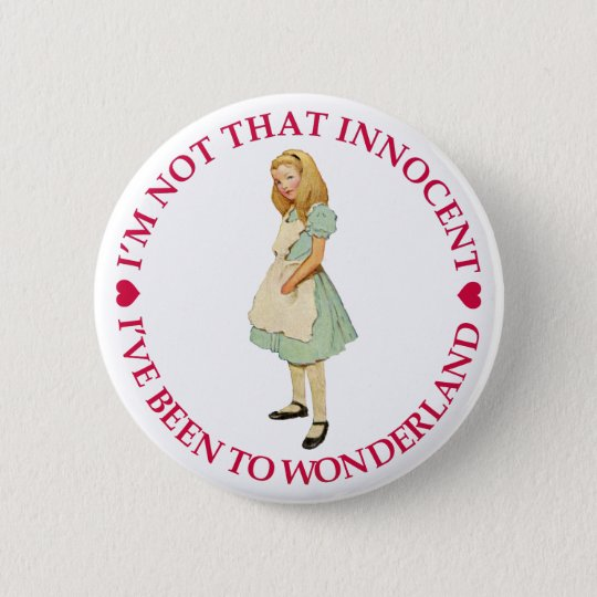 I'M NOT THAT INNOCENT 6 CM ROUND BADGE