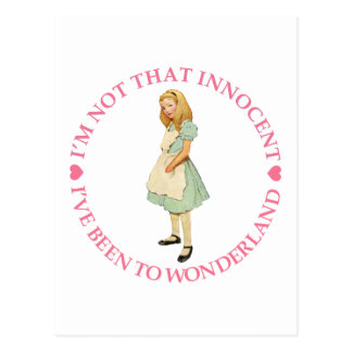 I'M NOT THAT INNOCENT POSTCARD